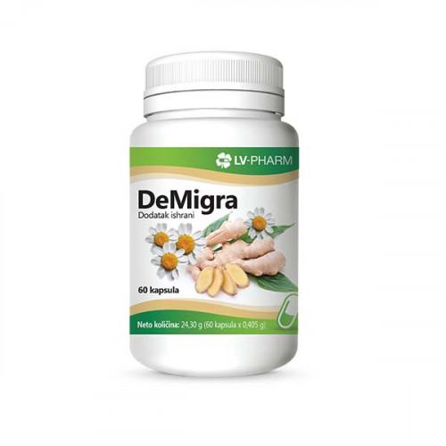 DeMigra prirodni preparat za prevenciju glavobolje i migrene