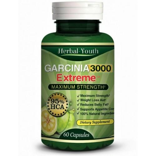 Garcinia cambogia 3000 extreme 95% HCA (najjača verzija)- prirodni preparat za mršavljenje