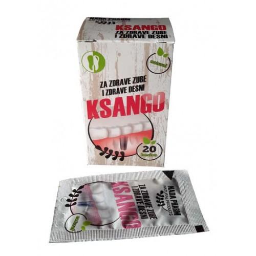 KSANGO - Prirodni preparat za lečenje paradentoze i sprečavanje stvaranja kamenca