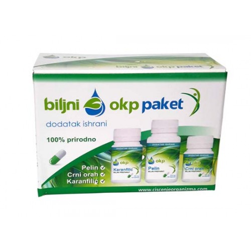 OKP- antiparazitni program za brzo ćišćenje organizma od toksina, parazita, gljivica i bakterija