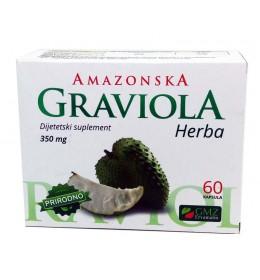 AMAZONSKA GRAVIOLA (kapsule) - prirodni preparat za jačanje imuniteta i regulaciju opšteg stanja organizma