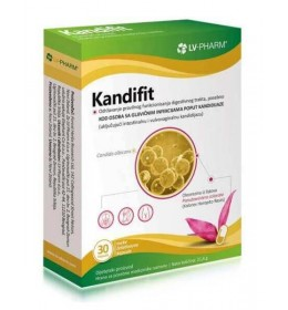 KANDIFIT - prirodni preparat za neutralizaciju kandide (Candida)