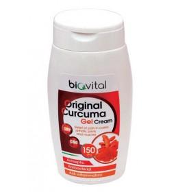 Kurkuma gel krem -prirodna krema za za bolove u mišićima i za održavanje fleksibilnosti zglobova