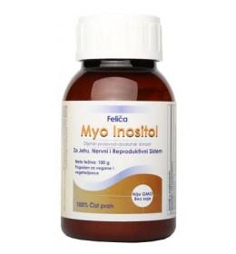 MYIO INOSITOL - dodatak ishrani, vitamin B 8, uključen u slanje signala između ćelija povećava osetljivost različitih receptora