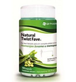 NATURAL TWIST FAVE - prirodni preparat za regulaciju hormonskog disbalansa, olakšava tegobe u menopauzi