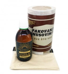 Pakovanje za detoksikaciju organizma ricinusovim uljem