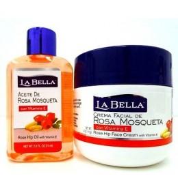 ROSA MOSQUETA ulje i krema za lice